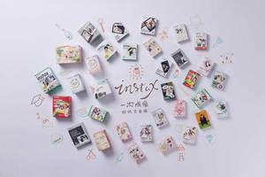 Image 4 - 10 folhas fujifilm instax mini filme instax mini 11 8 9 cor de rosa panther filme para fuji mini 7s 25 26 70 90 câmera instantânea SP 1 SP 2