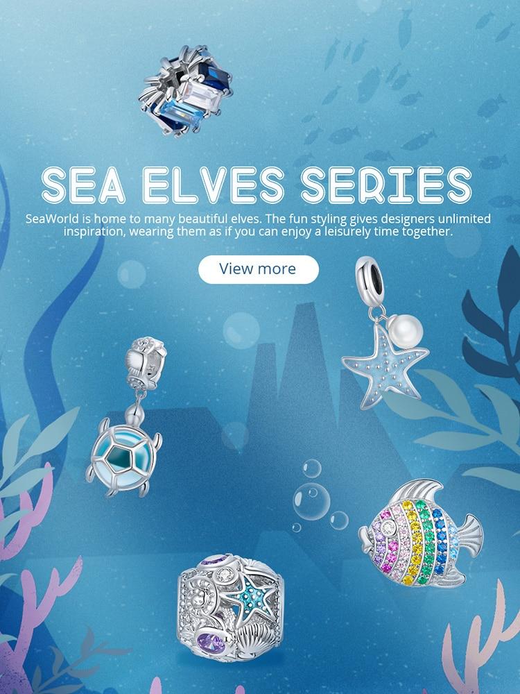Meer Schildkröte Seestern Charm Anhänger Armband Halskette 925 Sterling Silber