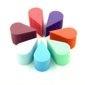 Random Color 8PCS Foundation Puff Triangle Petal Portable Practical Sponge Soft Cosmetic Puff Face Makeup Tools