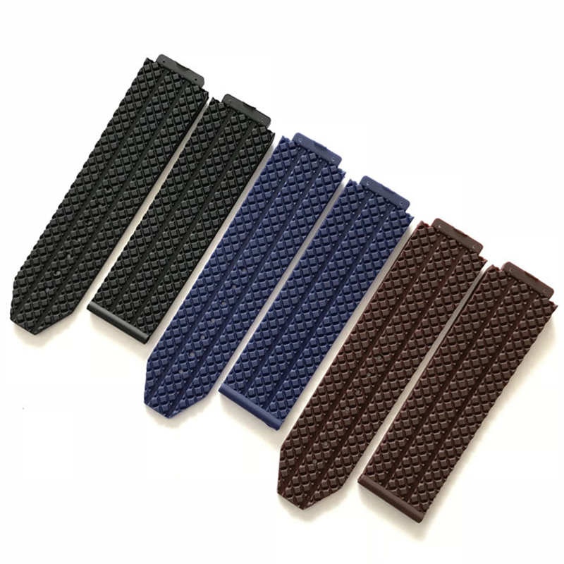 New Watch Accessories Rubber Strap For Hublot Big Bang Series 18mmx24mm Men and Women Watch Band Accessories