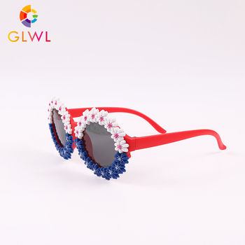 Okulary przeciwsłoneczne dla dziewczynek okrągłe okulary przeciwsłoneczne dla dzieci piękne okulary dla dzieci okulary sportowe dla dzieci okulary przeciwsłoneczne hurtowo luzem tanie i dobre opinie Whale bay CN (pochodzenie) Dziewczyny Okład Z tworzywa sztucznego NONE UV400 35MM GLWL1911-21 45MM As Pictures Flower Round Sunglasses Baby
