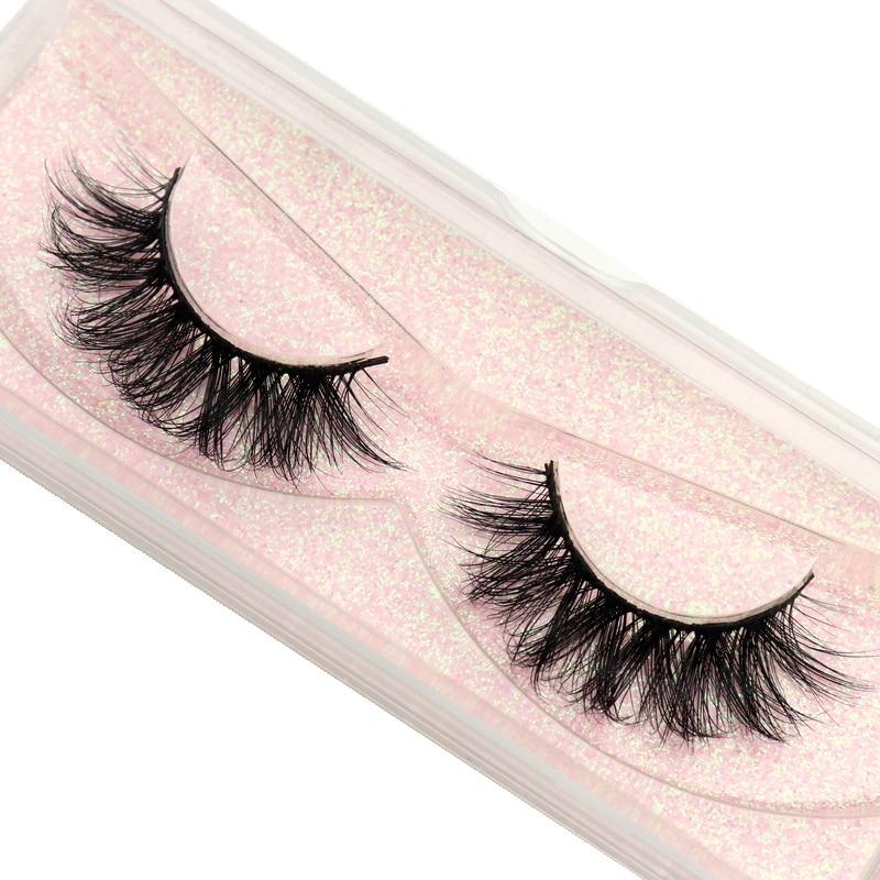DOCOCER Mink Eyelashes 100% Cruelty Free Handmade 3D Mink Lashes Full Strip Lashes Soft False Eyelashes Makeup Lashes