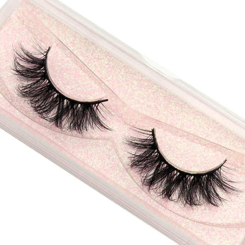DOCOCER Nerz Wimpern 100% Cruelty free Handgemachte 3D Nerz Wimpern Voller Streifen Wimpern Weichen Falsche Wimpern Make-Up Wimpern