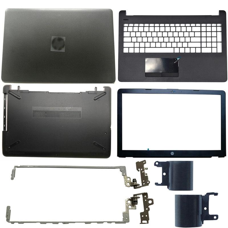 NEW Laptop LCD Back Cover/Front Bezel/LCD Hinges/Palmrest/Bottom Case For HP 15-BS 15T-BS 15-BW 15Z-BW 250 G6 255 G6 924899-001