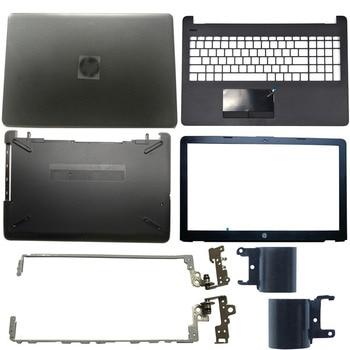 NEW Laptop LCD Back Cover/Front bezel/LCD Hinges/Palmrest/Bottom Case For HP 15-BS 15T-BS 15-BW 15Z-BW 250 G6 255 G6 924899-001 original new for hp pavilion 15 bs 15t bs 15 bw 15z bw 250 g6 255 g6 laptop lcd back cover front bezel hinges 924900 001 white