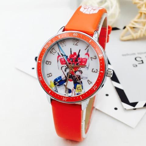 Hot Sale Fashion Kids Watches Boys Cartoon Transformers Sports Quartz Watch Boy Children Watches Gift Clock montre enfant saat Islamabad