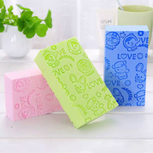 1Pcs Soft Body Cleaning Bath Brush Bath Sponge Bath Spa Sponge Scrubber Adult Bath Sponge Cleaning Shower Scrub Bath Ball Sponge недорого