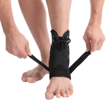 S/m/l Size Ankle Brace Support Sports Adjustable Straps Foot Orthosis Stabilizer Protector
