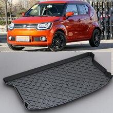 LUCKEASY для Suzuki Ignis нескользящий Водонепроницаемый 3D TPO багажник Грузовой коврик переработанный прочный Стайлинг автомобиля