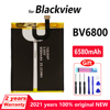 Original 6580mAh New battery For Blackview BV6800 Pro IP68 Waterproof MT6750T Genuine Replacement Batteries With Gift Tools