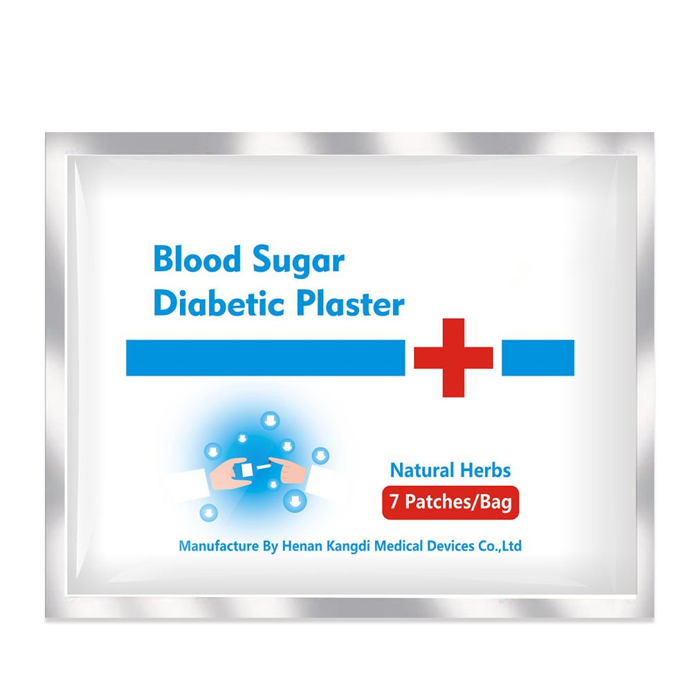 Ifory Reduce Blood Sugar Patch 49Pcs/7Bags Diabetic Patch Herbal Diabetes Cure Lower Blood Glucose Treatment Health Care 1