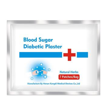 Ifory Diabetic Patch 21Pcs/3bags Herbal Diabetes Cure Lower Blood Glucose Treatment Sugar Balance Plaster Health Care