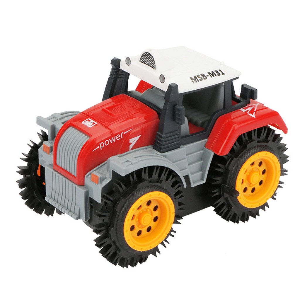 Remote Control Car Children Dump Truck Simulation 4 Wheels Drive Jeep Electric Stunt Toy Car Monster Truck RC Off Road Xmas Gift
