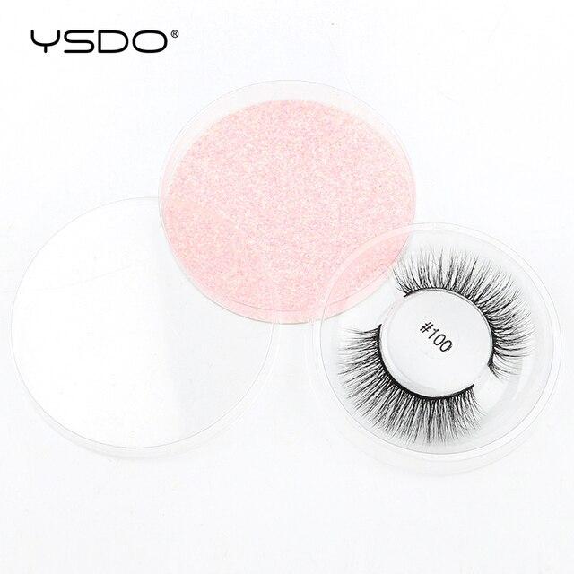 YSDO Makeup Eyelashes Wholesale 4/10/20/30/50pcs Mink Lashes Fake lashes Natural False Lashes Mink eyelashes set Eyelashes Bulk 5