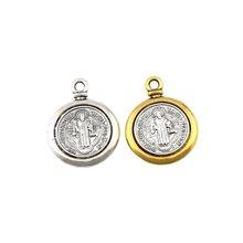 Медаль Святого благодетто подвески в виде креста ювелирные изделия