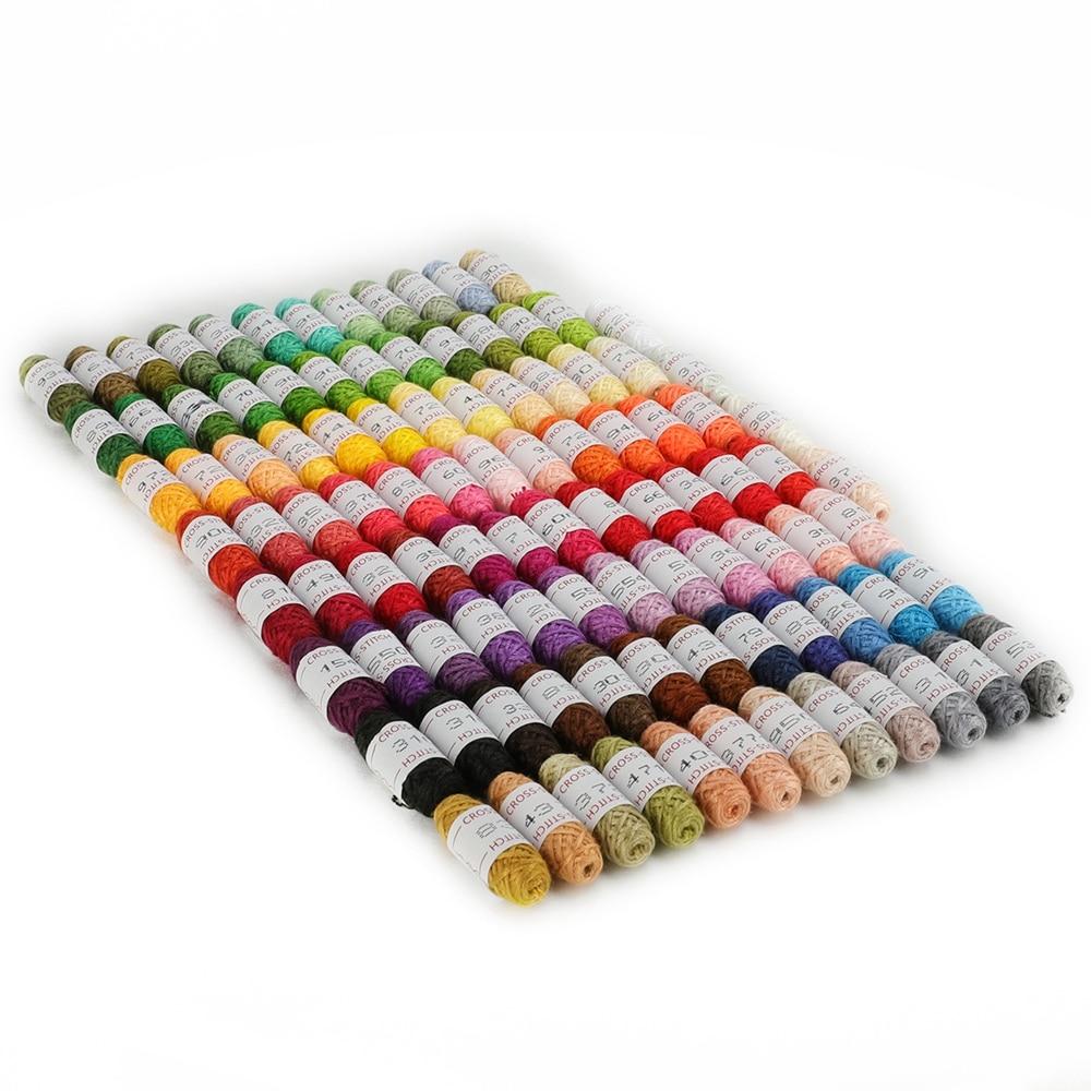 109 шт вышивка нить с коробка для хранения крест Набор для вышивания нитки для шитья Набор струн для дружбы браслет нить