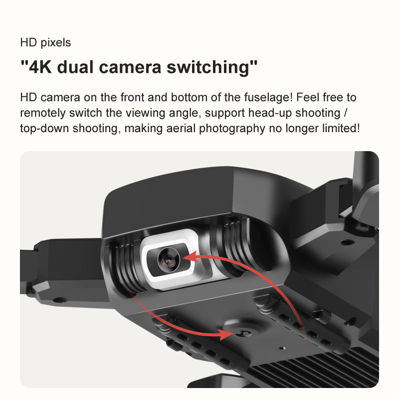 Dual Camera 4K PIXELS 50X zoom Gesture photo and video Easily shoot perfect pictures-HD Pixels
