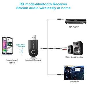 Image 2 - Bluetooth transmetteur 3.5MM Jack Audio adaptateur sans fil Bluetooth 4.0 stéréo Audio émetteur adaptateur dernier pour casque TV