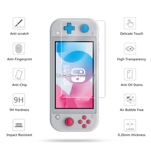 Image 5 - Portable Hard Shell Bag Case for Nintend Switch Lite Temeperd Glass Screen Protector for Nintendo Switch Lite Accessories