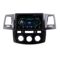 4G LTE Android 8,1 для toyoal Fortuner/HILUX Revo/Vigo 2004-2013 2014 мультимедийный стерео автомобильный dvd-плеер навигация gps радио