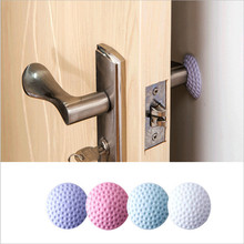 Pad Door-Stopper Wall-Protector Crash-Pad Shock Rubber Silent Rear Rails-Mat Mute-Touch