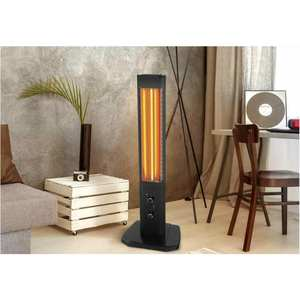 Heater Electric-Panel Infrared-Patio-Space Outdoor Orbit-Tower 1800W with Vertical-Design