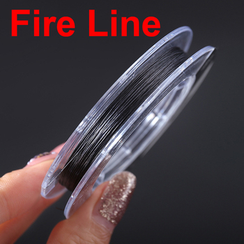 100m Fire-Line Fishing Line Quality Anti-bite Fishing Line Single Strand super strong Fishing Line Wear-resistant Line Fireline 2018 hot fishing line 4 series pe strong horse line 500 m anti bite line fishing line