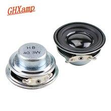 GHXAMP 1,5 zoll 40mm Vollständige Palette Lautsprecher Einheit 4ohm 3W Bluetooth Lautsprecher DIY Tragbare Lautsprecher Hochtöner Mitte Bass lautsprecher 2PCS