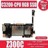 Yeni! Orijinal For Asus ZenPad 10 P023 Z300C tabletler Laptop anakart anakart mantık kurulu W/C3200-CPU 2GB-RAM 8GB SSD