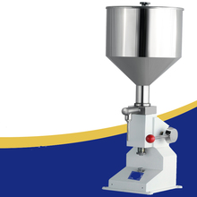 цены New Hand Pressure Paste Filling Machine for Cream Shampoo Filling Cosmetic Cream Sausage Gel Filling Machine