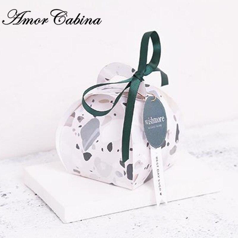 30 pièces style européen fait à la main cadeau petit mariage frais comme boîte à bonbons fête d'anniversaire fournitures boîte de chocolat cadeau