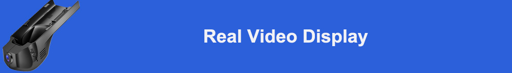 Real Video Display 标题