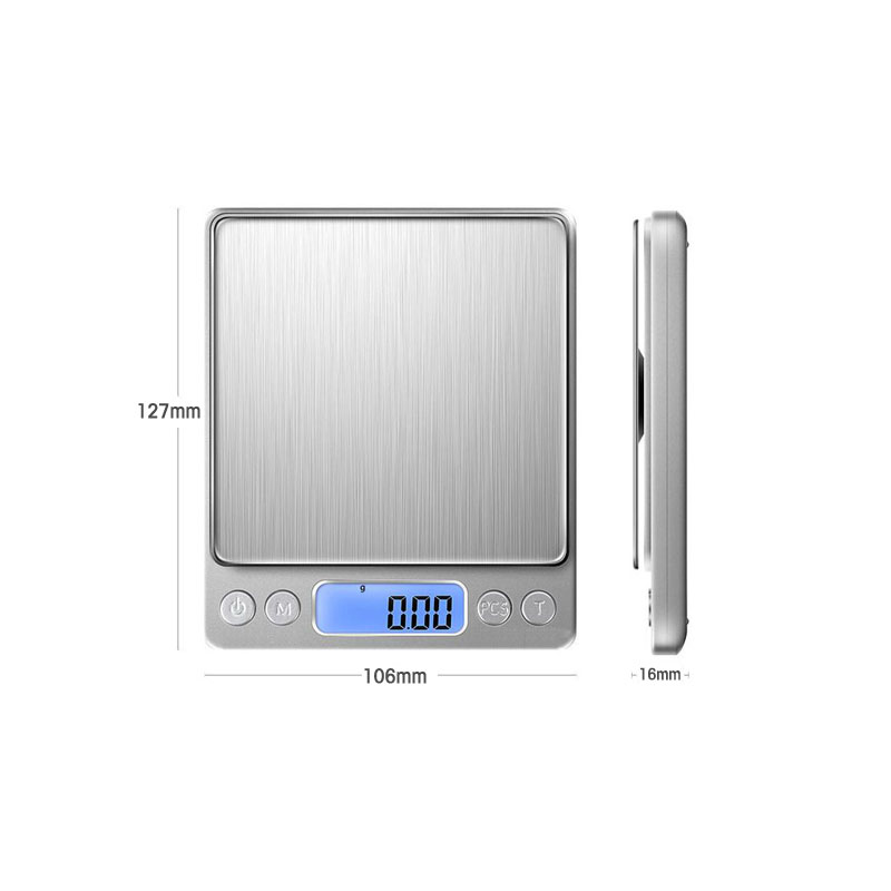 Image 4 - Digital gramera precision scales Mini Libra food kitchen scale Smart Electronic LED Digital Weight Balance scales bascula cocina-in Weighing Scales from Tools