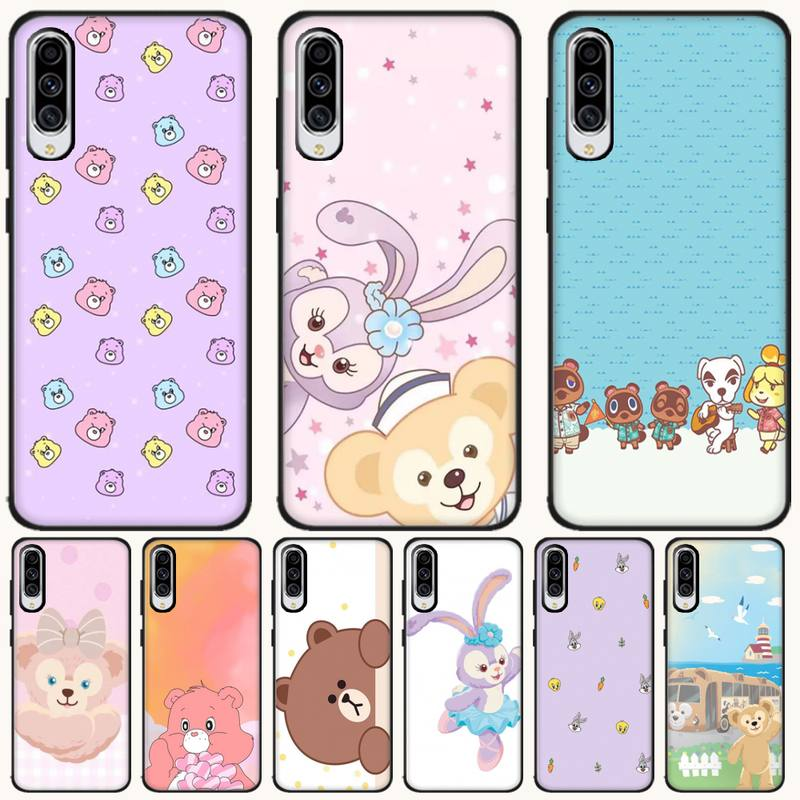 Duffy Bear Soft black Phone Case For <font><b>Samsung</b></font> A6 6S 6Plus 7 720 <font><b>750</b></font> 8 8 PLUS 9 920 <font><b>2018</b></font> A8 A9STAR image