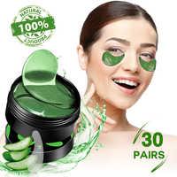 SHVYOG 60 stücke Anti Falten Eye Patches Maske Kristall Kollagen Unter die Augen Schlaf Maske Entfernen Augenringe Hydrogel Patch
