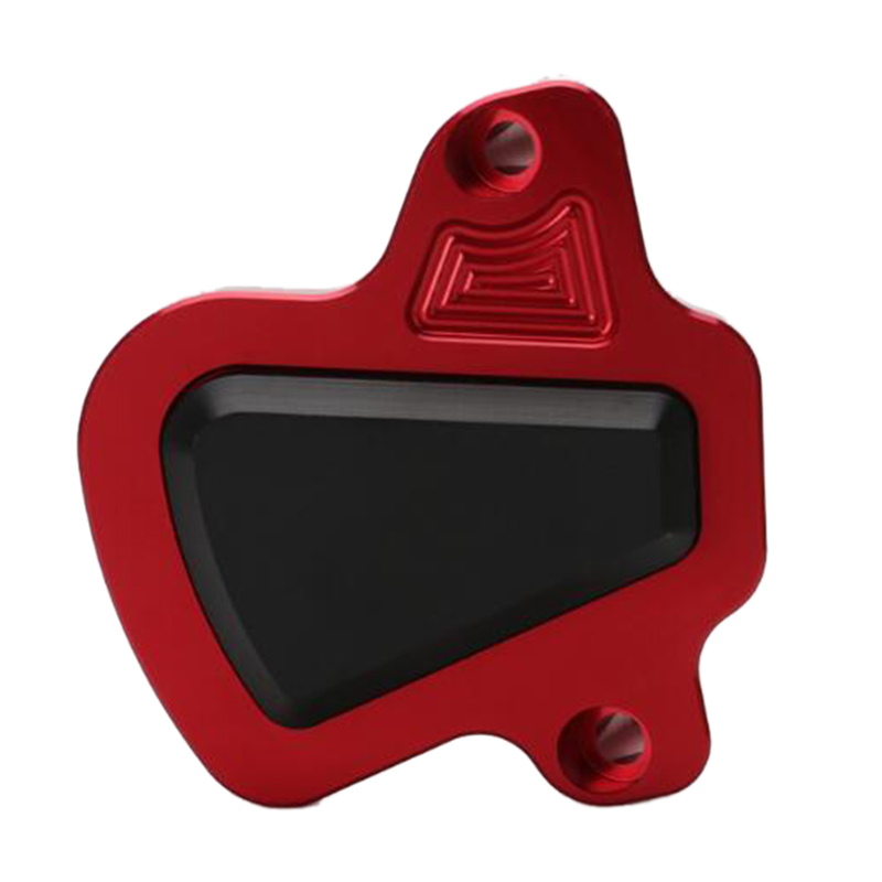 Motorcycle Modified CNC <font><b>PCX</b></font> 150 <font><b>125</b></font> Engine Guard Cover Pad Protector for <font><b>Honda</b></font> PCX150 PCX125 2018 <font><b>2019</b></font> Parts Red image