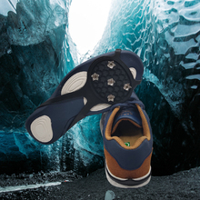 Shoes Ice-Claw Ice-Gripper Anti-Slip Hiking Snow Outdoor And 1-Pair Gourd Easy Lightweight