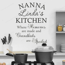 personalized Kitchen  Quote wall sticker vinyl home kitchen wall decal removable wall art mural JH107 gym fitness wall sticker motivational quote vinyl art decal removable home room decor