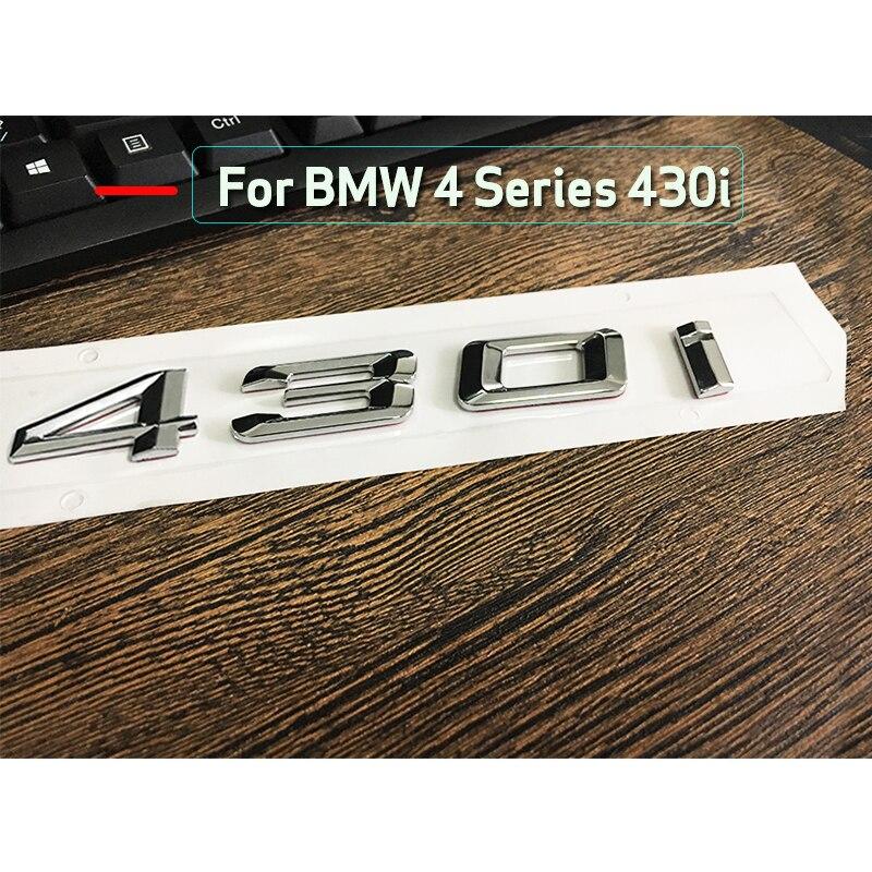"""Black /"""" 535 i /"""" Number Trunk Letters Emblem Badge Sticker for BMW 5 Series 535i"""