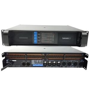 Image 5 - Leikozic 2500w 10000q 4 canais classe amplificador de potência td linha matriz amplificador poderoso desempenho de estágio profissional de áudio