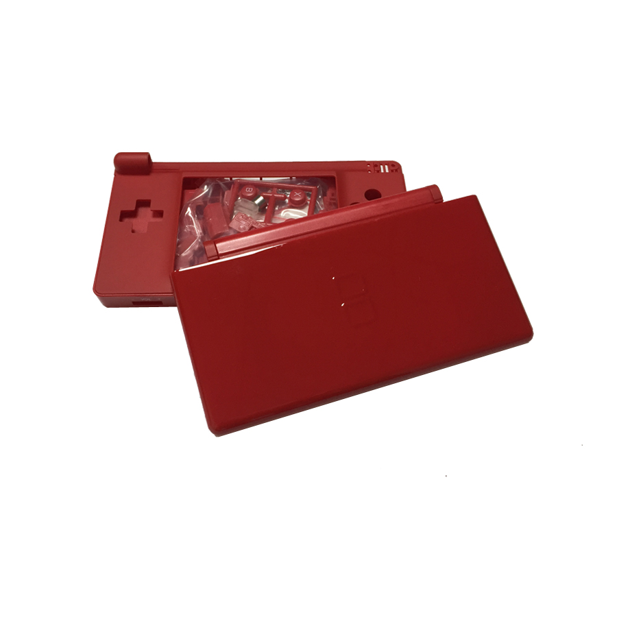 Купить с кэшбэком multiple colour game case cover replacement case screen lens for Nintend DS Lite N DSL full Housing Case Cover