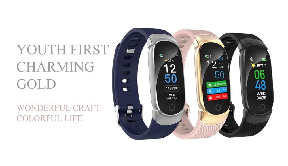 QW16 Smart Band Heart Rate Tracker Fitness Tracker Smartband Smart Bracelet Waterproof Smart Wristband Smart Watch pk mi band 3 (7)