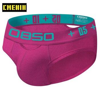 CMENIN Cotton Sexy Mens Underwear Briefs Free Shipping Men's Bikini Gay Under Wear Man BS3513 - discount item  30% OFF Men's Underwears