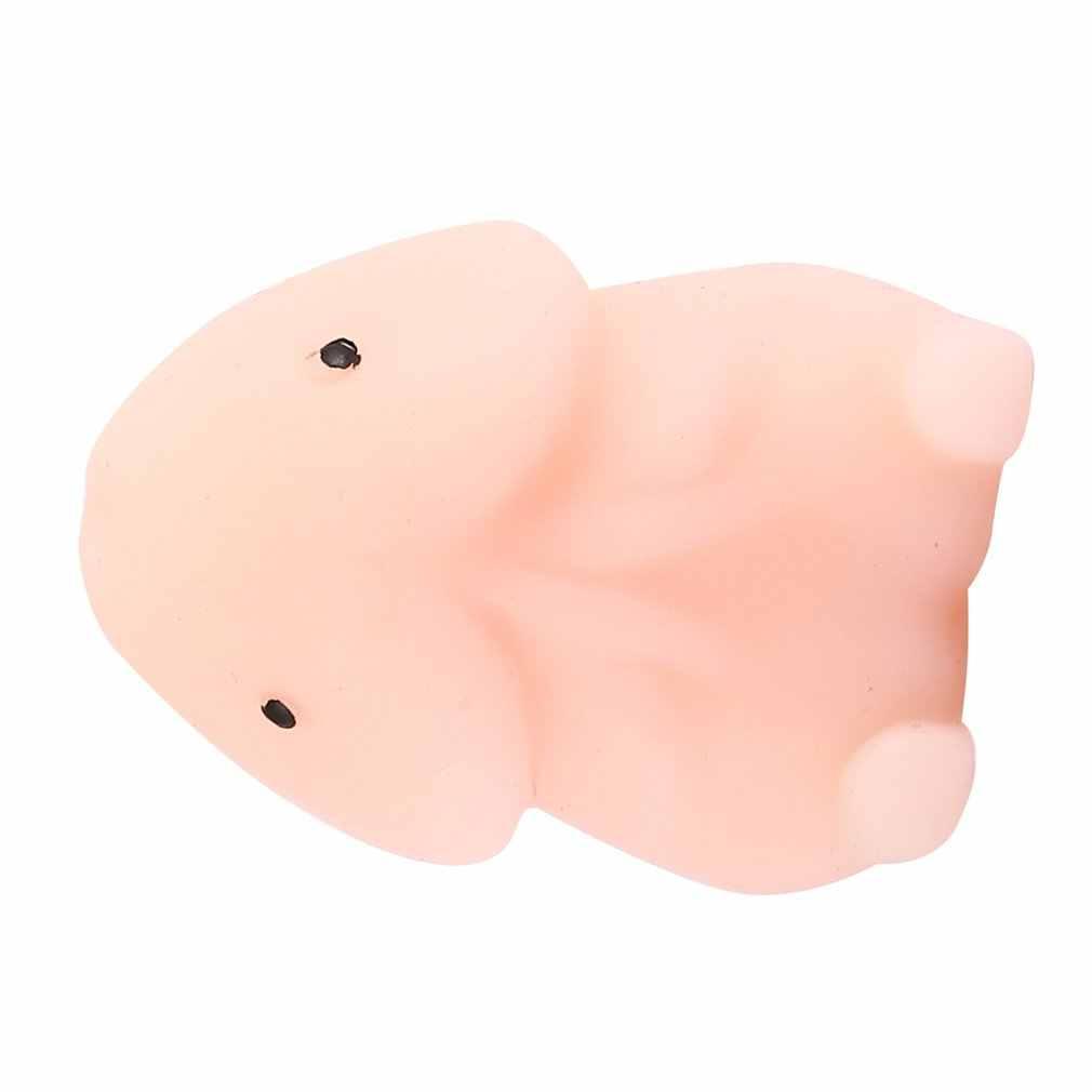 Mini squishy squishy estresse reliever brinquedos bonito animal design skuishy animales panda para espremer brinquedo de descompressão para crianças adulto