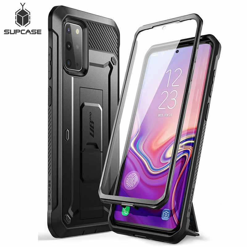 SUPCASE For Samsung Galaxy S20 Plus Case / S20 Plus 5G Case (2020) UB Pro Full-Body Holster Cover WITH Built-in Screen Protector