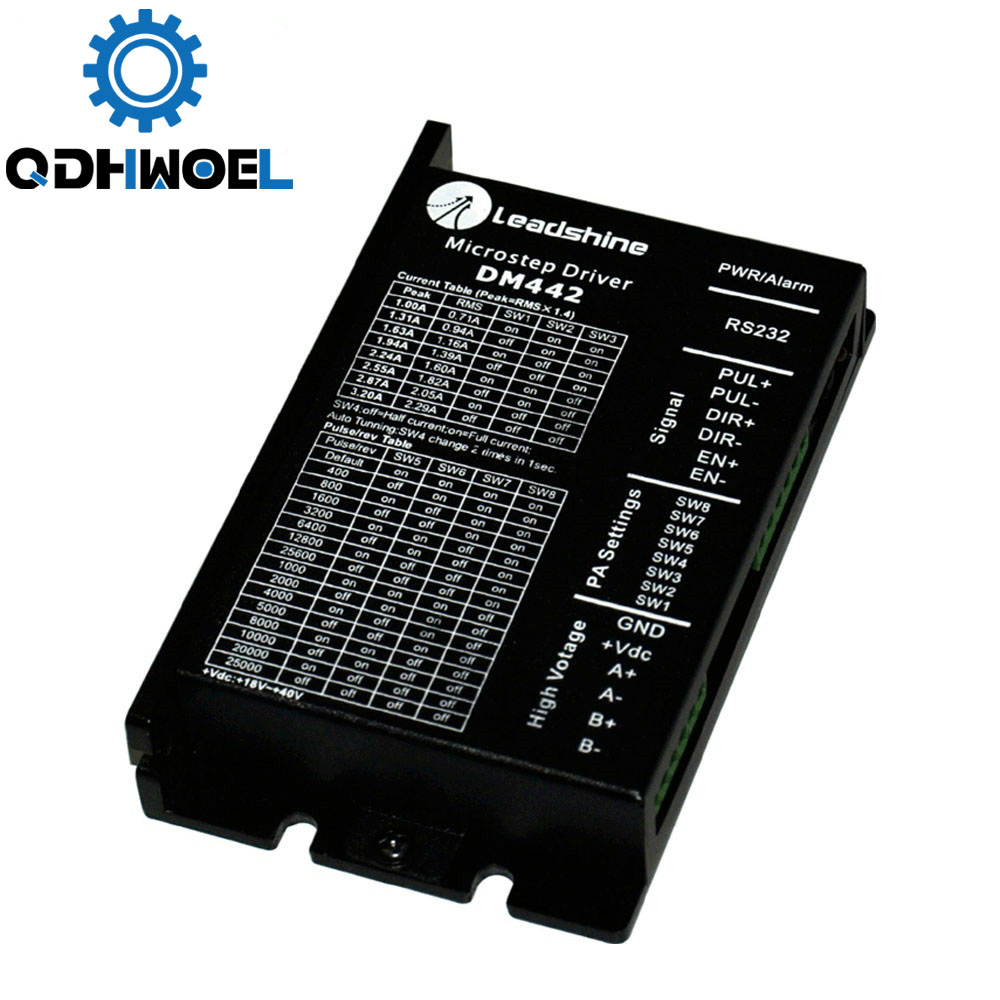 Leadshine 2 Phase Stepper Driver <font><b>DM442</b></font> for Digital Stepping Motor 57HS09 image