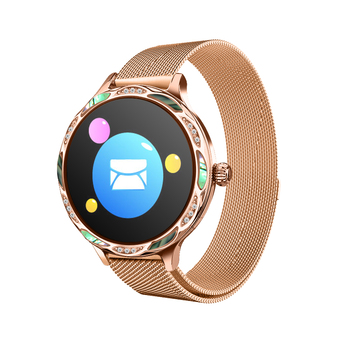 M9 Smart Watch Female Physiological Period Reminder Waterproof Sports Heart Rate Blood Fitness Bracelet for Android IOS pk kw10