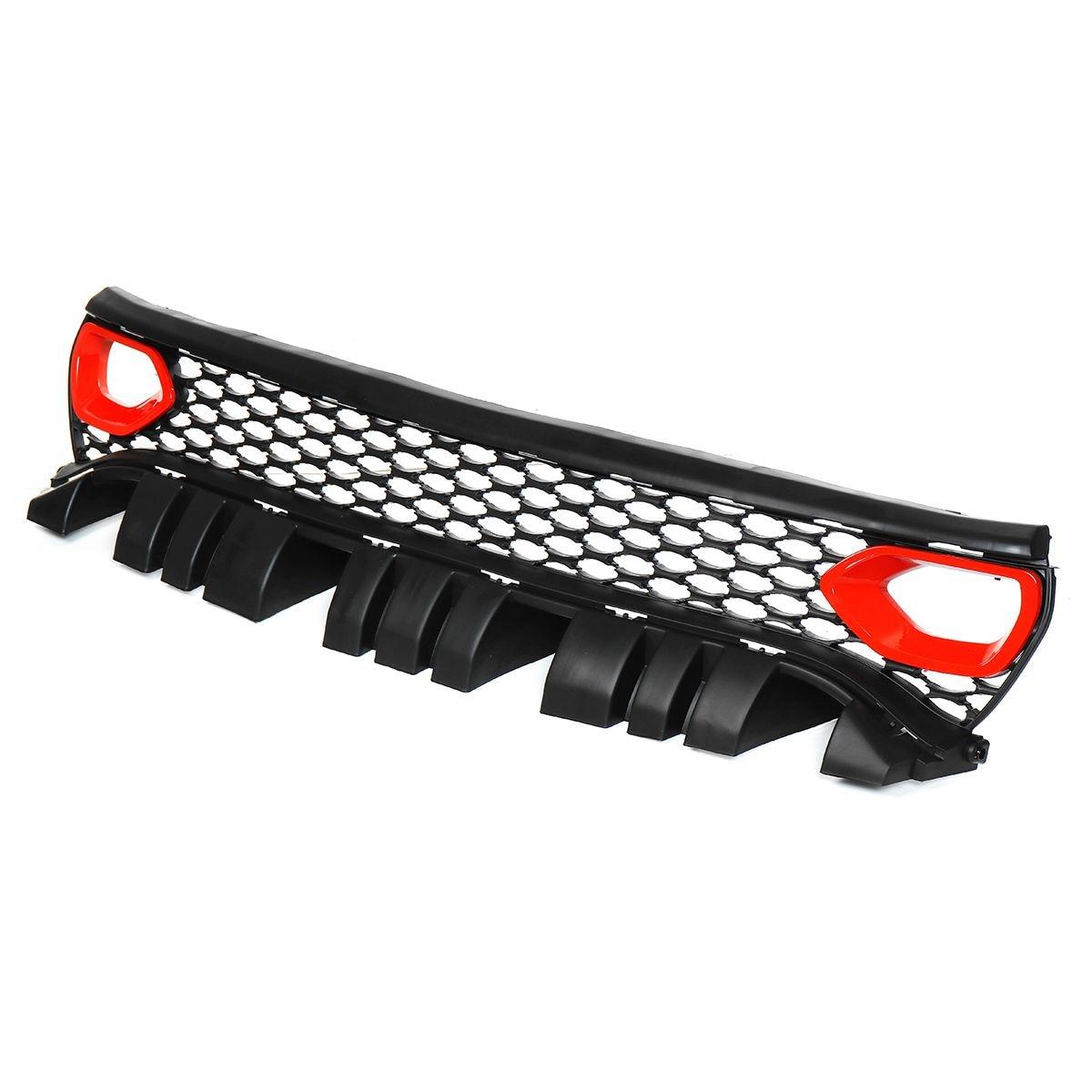 Упаковка стиль SRT/Scat гриль автомобильный передний бампер сетка решетка верхний гриль решетка для Dodge для зарядного устройства SRT/Scat 2015 2019 - 2