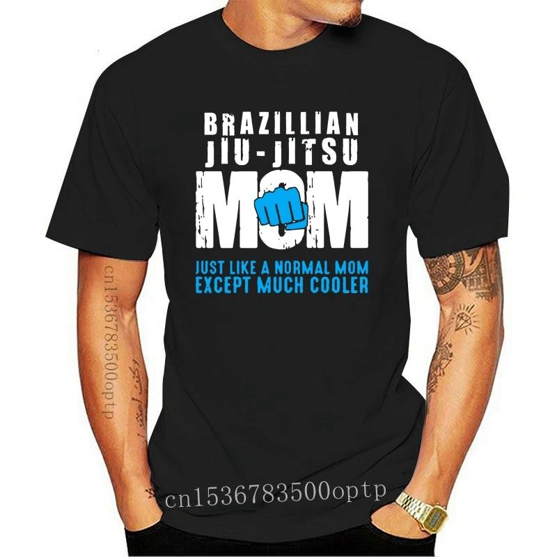 New Fashion Popular funny brazilian jiu jitsu mom bjj gift tshirt Pattern Basic Solid men tshirt branded size S-5xl Tee tops