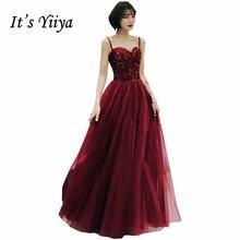 Женское вечернее платье без рукавов it's yiiya блестящее